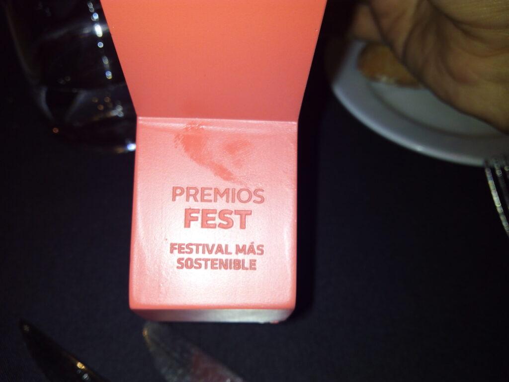 Premio FEST al festival más sostenible