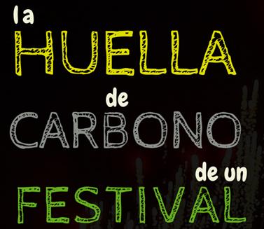 Huella de carbono en festivales de música