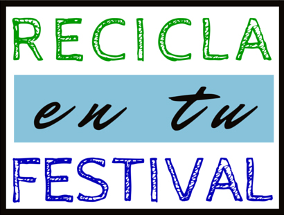 Recicla en tu festival